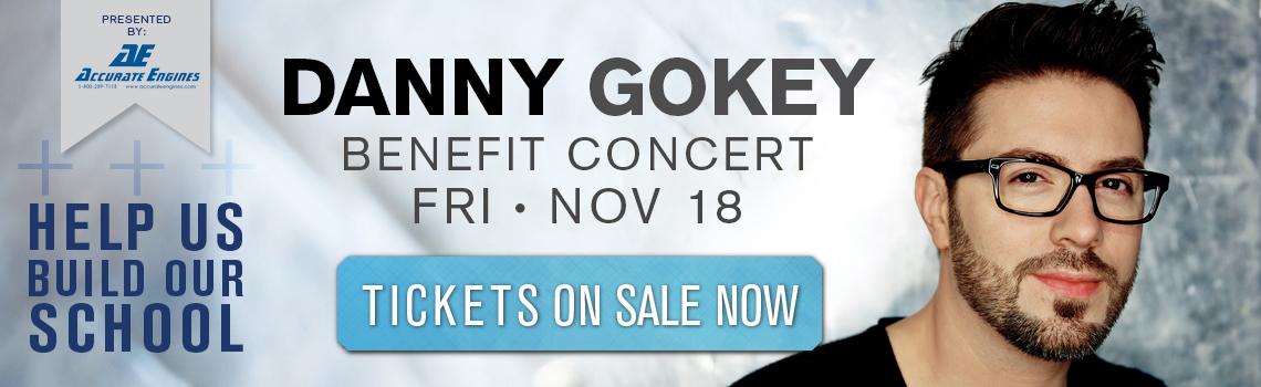 Danny Gokey Benefit Concert