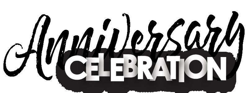 Anniversary Celebration Title Logo